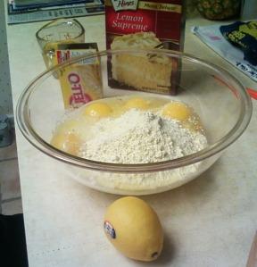 lemon poppy seed mix