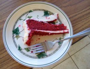 red velvlet cake